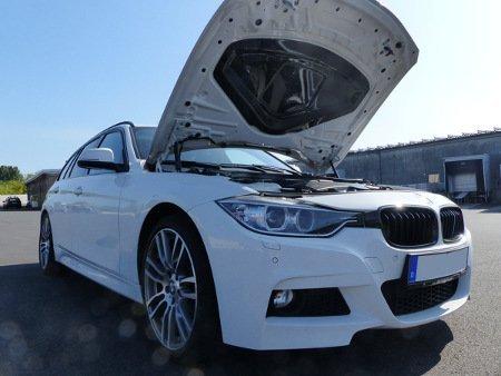 RevDop BMW CARBON HOOD COVER innen F30 F31 F8 -Motorhaubenabdeckung-