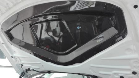 Bonnet cover for the F8 and F3 models F30 F31 F8