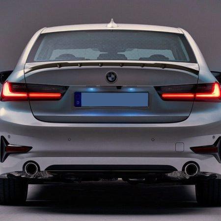 Hier seht Ihr unseren BMW G20 Heckspoiler mit einem einzigartigen Design.